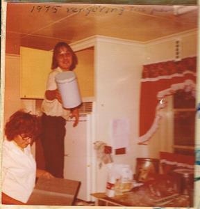 Mor Iris och Lasse 1975