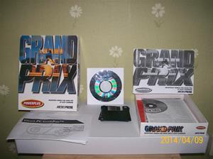 844. Grand Prix Powerplus, dataspel. Nr. 5 012634  003017 (streckkod). Tillv.år: 1991-92. Nypris: 249:-. Fotonr: 101_0593