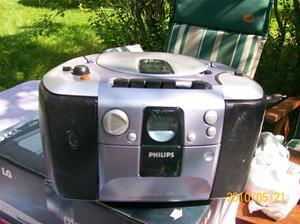 374. Philips, radio-cd-cassettespelare. Typ: AZ 1103/00. Nr: KZ 0397 4201 0030. Fotonr: 100_5700