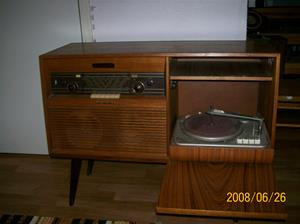012. Dux radiogrammofon. Typ: V1382. Nummer: 772753. Fotonr: 100_1016