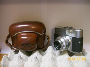 884. Såld. Vito B. Kamera. Typ: Voigtländer. Nr: Prontor - SVS. Tillv: 1954-60. Fotonr: 101_0657.