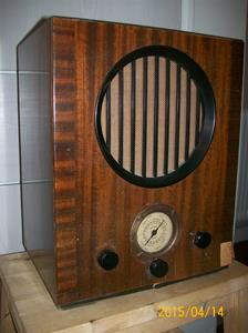 910. AGA Baltic Radio AB, rörmottagare. Typ: AGA Riksmottagare. Nr: 145370. Fotonr: 101_0741.