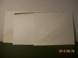 792. Helt vanliga vita kuvert, fast gamla. 3 stycken. 101_0485