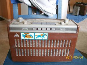 520. Monark, transistorradio. Typ: ? Nr: 3-63099. Fotonr: 100_8144
