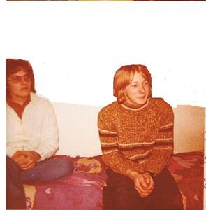Nyman och Lasse censurerad bild. Troligen 1976