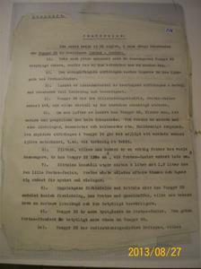 776. Dokument gällande jämförelse mellan dammsugare Vampyr 35 (vilken jag har i min samling) och Protos-Junior. Daterat till 1930-tal. 101_0445