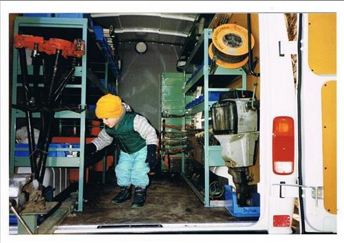Mina servicebussar på Däldehög med Erik.