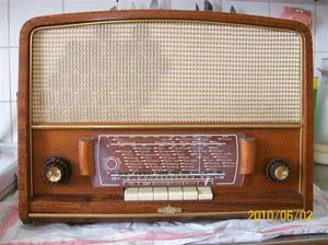 412. Stella Radio, rörmottagare. Typ: 520 VFM. Nr: 394 994. Fotonr: 100_5881