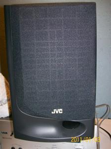 489. JVC, högtalare. Typ: UX-BS 1004. Nr: PT.NO.VGSS 006-002. Fotonr: 100_7573