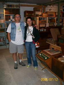 Ett väldigt uppskattat besök av Madeleine Gylling och Tim Moy. 100_1402