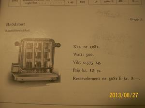 774. Såld. Helios, elektriska värmeapparater. Katalog H-35. År: 1935. Lite av innehållet. 101_0441