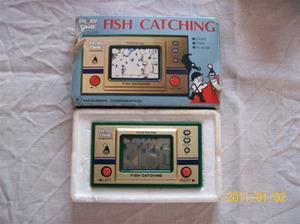 472. Masudaya, arcadespel (mini). Typ: Fish Catching. Nr: 4978. Fotonr: 100_7545