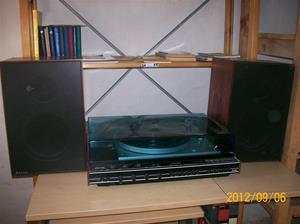 679. Luxor Dirigent 3000, vinylspelare med radiodel. Typ: 3835, serie 2. Nr: L 589774/Sverige. Fotonr: 100_9681.