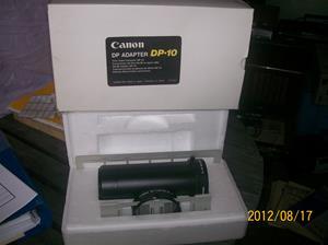 600. Canon, diabilds/negativadapter från Sveriges Radio/Television. Typ: DP 10 35mm. Nr: DZ6-001. Fotonr: 100_9464