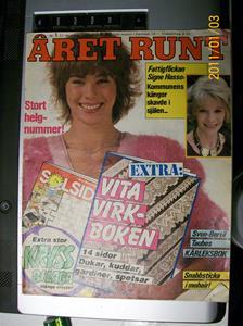 483. Året Runt, veckotidning. Nr: 1, 27 December 1985. Pris: 8,80:-. Fotonr: 100_7566