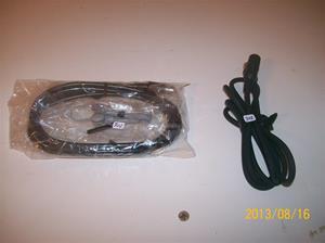 702. Antennkablar och örsnäcka. Tillhör nummer 702, Betamax. 101_0314