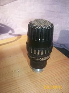 597. Bever Dynamic, mikrofonhuvud från Sveriges Radio. Typ: M 411 N (T). Nr: 08646, Sveriges Radio 773020. Fotnr: 100_9457
