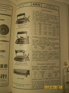 790. Såld. AEG katalog nr 35, elektrisk material. Nummer: 418565. Tillv: 1934 i Stockholm. 101_0481