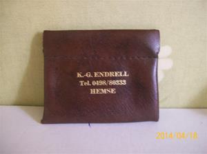 859. Plånbok, K-G Endrell. Fotonr: 101_0612