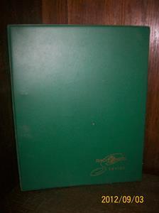 668. Såld. Tandberg/Radionette, servicemanual. Typ: Rullbandspelare/Grammofoner. År: 1960/70-talet. Tillv.land: Norge. Färg: Grön. Fotonr: 100_9667