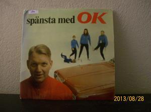 814. Spänsta med OK/Bengt Bedrup. EP-skiva med träningsmusik. 101_0522