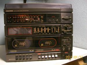 508. Daewoo, stereostapel. Typ: Prelude DW 560. Nr: 70700317. Fotonr: 100_7639