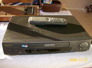 277. Panasonic, VHS. Typ: NV-SD 275 EG. Nr: K 8 BA Ǿ 1933. Foto: 100_2367