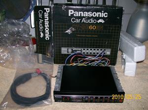 396. Panasonic, equalizer. Typ: CY-SG 60 EN. Nr: 11 438. Fotonr: 100_5771