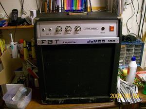 355. FBT, amplifier. Typ: Jumbo 100. Nr: 473 880. Tillv.land: Italy. Fotonr: 100_4421