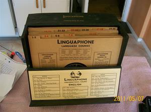 537. Linguaphone, språkkurs. Typ: English. Nr: 751221. Fotonr: 100_8177