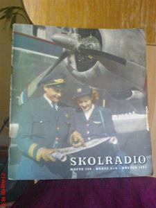 234. Skolradio, häfte. Typ: Häfte klass 5-8. Nr: 138. År 1953. Mobilfoto k750i nr.054