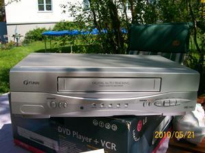 375. Funai, VHS-spelare. Typ: 27A-250. Nr: U 25314259. Fotonr: 100_5701