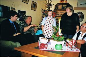 2008. Julafton hos oss på Autsarve 517 i Rone.