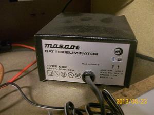 754. Testpanel för bilstereoapparater. Drivenhet, Mascot typ 682.  101_0399