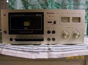 465. Sankyo, cassettedäck. Typ: STD-1700. Nr: 75711154. Fotonr: 100_7409