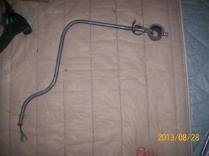 807. Kabelrör (Pansarrör), inkl. kabel och dosa. 1930-tal. Inklusive mina tår.  101_0503