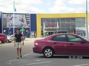 IKEA fick också en påhälsning. Vi passade på att inta lunch på nämnda ställe. SANY0072
