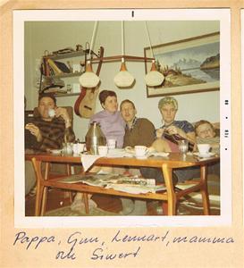 Framför TVn i Gun och Lennarts lägenhet i Havdhem 1968 001