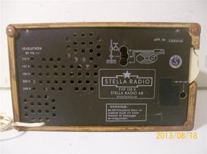 716. Stella Radio. 110V. Nr: 143706. 101_0329