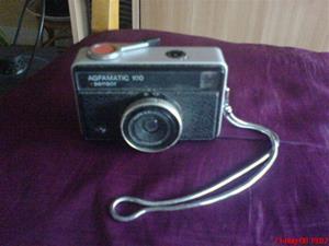 236. Agfamatic, kamera. Typ: 100 Sensor. Nr:?. Mobilfoto k750i nr. 055.