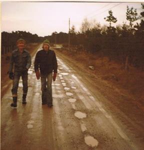 Runo och Mats pa Markvägen.