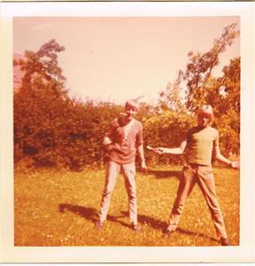 Två knivbeväpnade killar 2. 1971-72 nån gång.