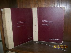 670. AB Servex, servicedokumetation. Typ: Philips, Dux, Aga, Conserton, Radiola. Nr: Radio 7. År: 1969/Sverige. Fotonr: 100_9670