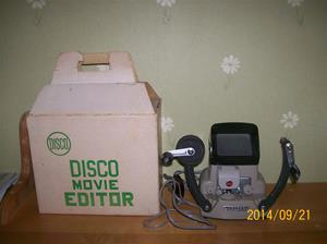 882. Disco filmredigeringsapparat. Typ: Movie Editor (8mm). Nr: ? Fotonummer: 101_0654
