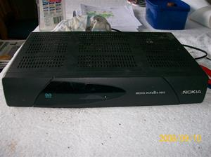 250. Nokia, digitalmottagare. Typ: Mediamaster 9602, DVB9602S. Nr: 262 6921-64/- S/N 0001364 8384. Fotonr: 100_2169