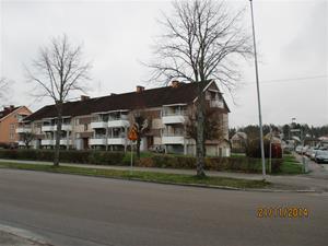 Här bodde vi när vi flyttade till Katrineholm. IMG_0639