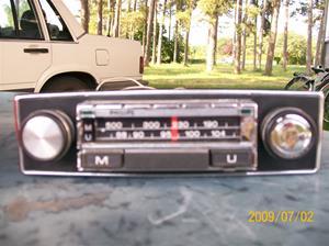 283. Philips, bilradio. Typ: 22 RN 311. Nr: PL 75003. Fotonr: 100_3558