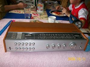 268. Philips, receiver. Typ: High Fidelety International 22RH 790/63. Nr: FK 148160. Fotonr: 100_2266