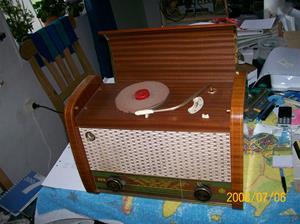 180. Dux radiogrammofon. Typ: V 1351 F. Nr: 685934. Fotonr: 100_1306.