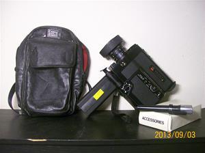 820. Canon filmkamera. Typ: 514 XL-S Canonsaund. Nr: 81105. 101_0531